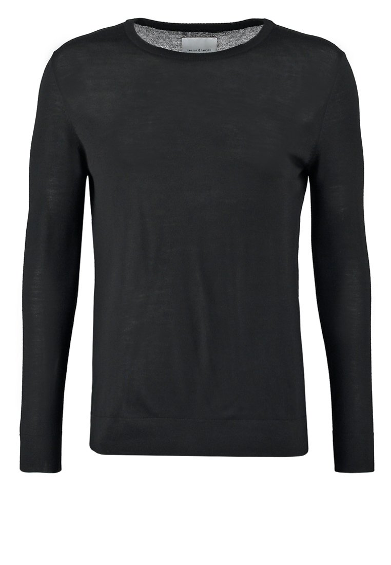 Samsøe & Samsøe LOKE Jersey de punto black