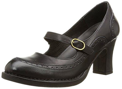 Neosens BALADI - zapatos de tacón cerrados de cuero mujer, color negro, talla 40