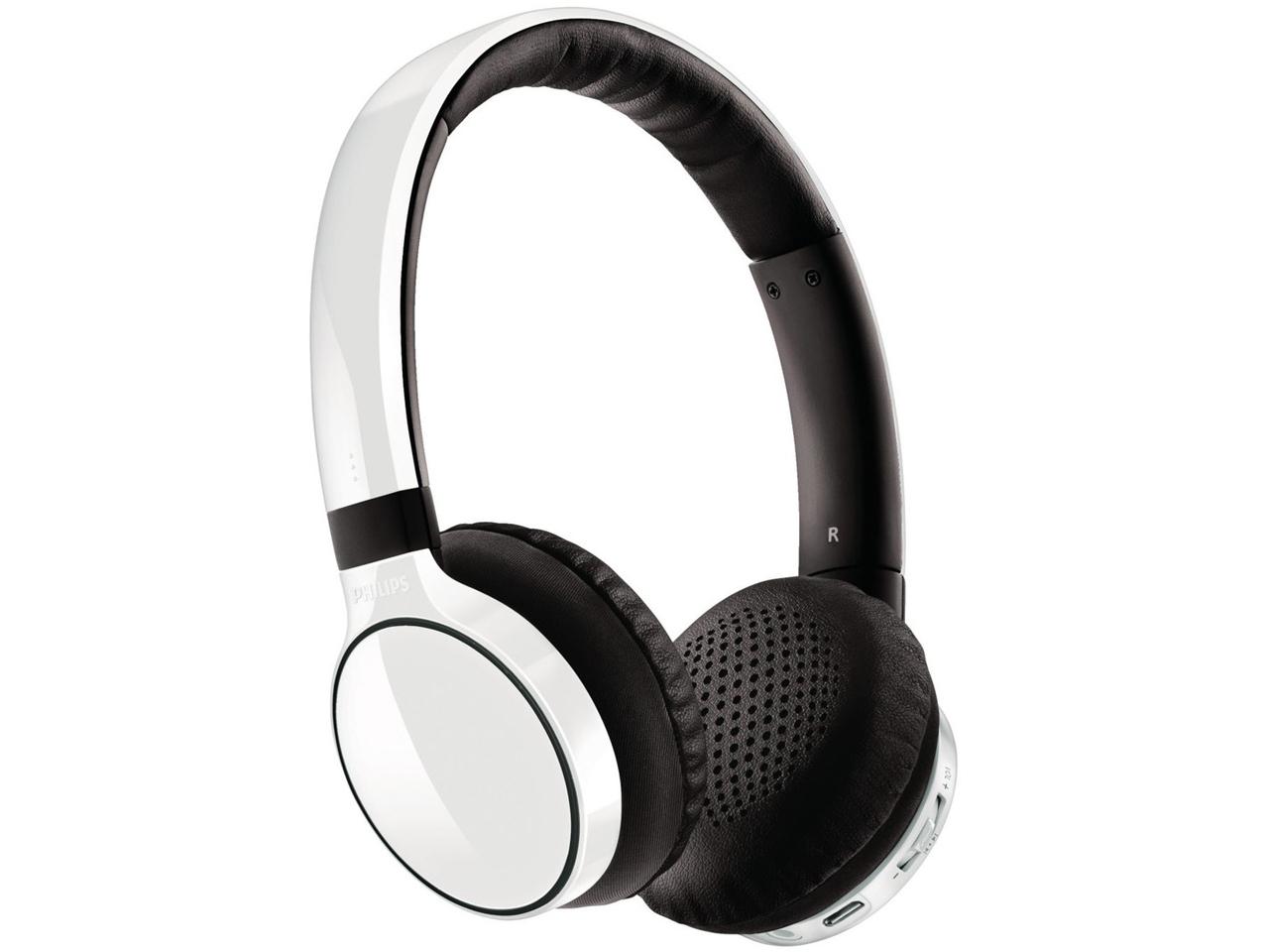 Auriculares inalámbricos Bluetooth Philips SHB9100 color blanco