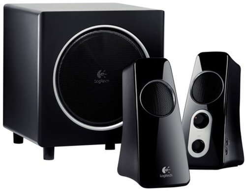 Logitech Z523 - Altavoces (Negro, Inalámbrico, 35 - 25000 Hz, Win XP, Vista Mac 10.3.9 +, 230 x 240 x 256 mm, 86 x 133 x 195 mm)
