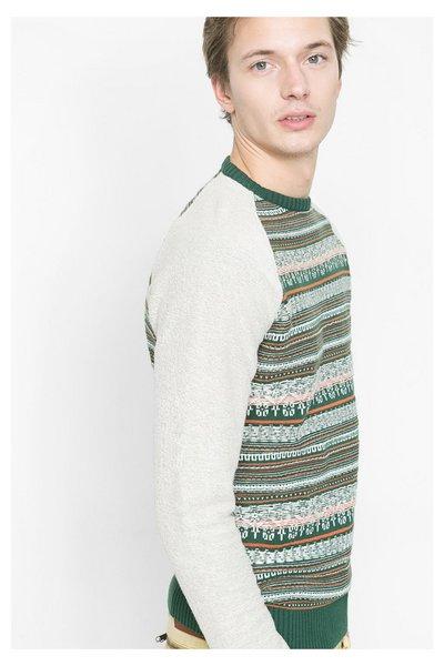 Desigual - Hombre - Jersey con hilos bordados - Reverse - Size L