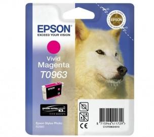 T0963: cartucho de tinta magenta original epson - 11 ml