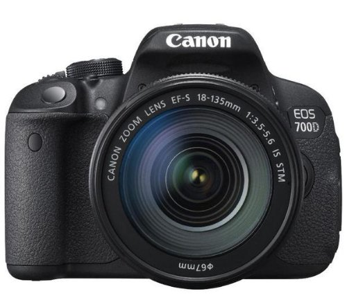 CANON 700D + objetivo EF-S 18-135mm IS STM