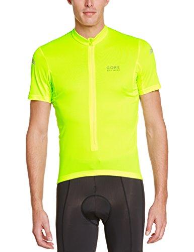 Gore Bike Wear Element - Maillot para hombre, color amarillo, talla XL