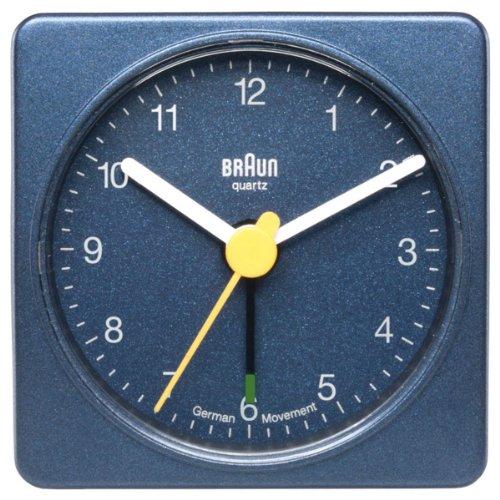 Braun BNC 002 - relojes de mesa (5,6 cm, 3,1 cm, 5,6 cm, Analógico) Azul