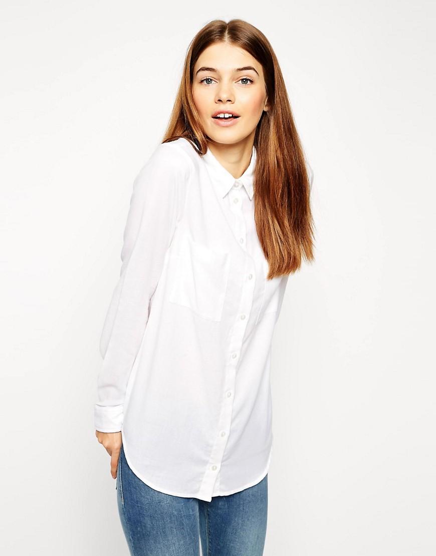 Camisa casual suave de ASOS