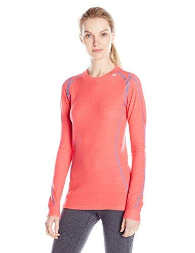 Helly Hansen W HH Warm Ice Crew - Ropa interior para mujer, color rosa, talla L