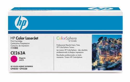 HP CE263AC - Tóner Contract LaserJet, magenta