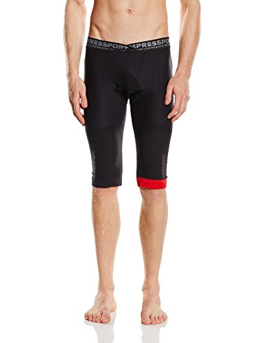 Compressport Trail V2 - Malla para hombre, color negro, talla S