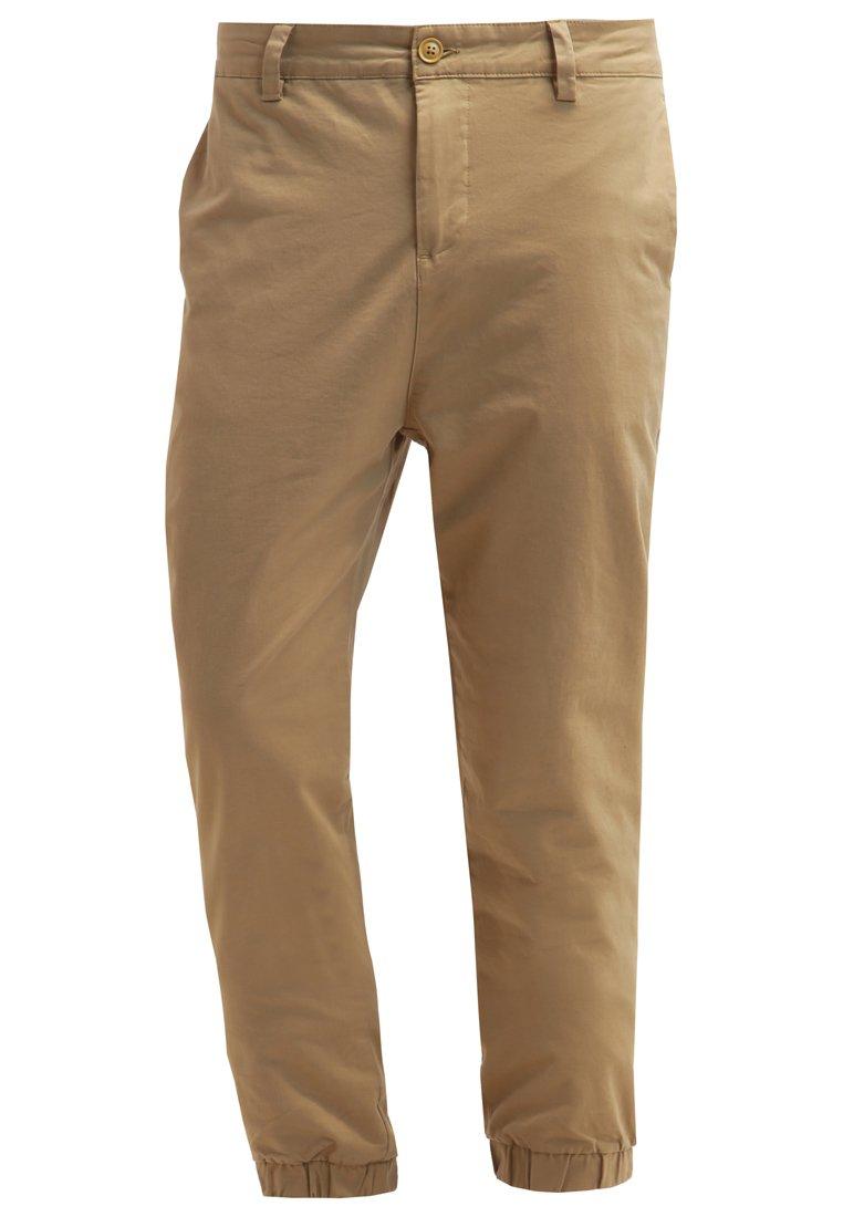 YOURTURN Pantalón chino tan