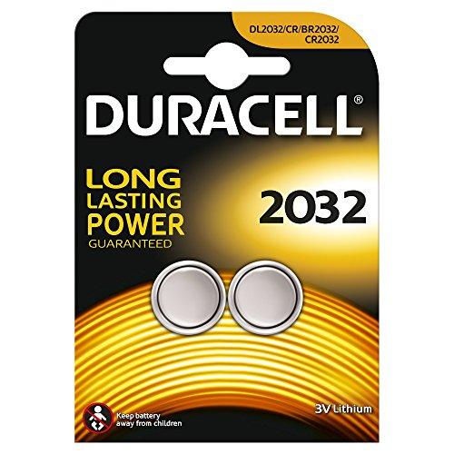 Duracell DL2032B2 - Pack de 2 pilas de botón - Litio - 3 V