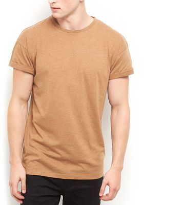 Camel Roll Sleeve T-Shirt
