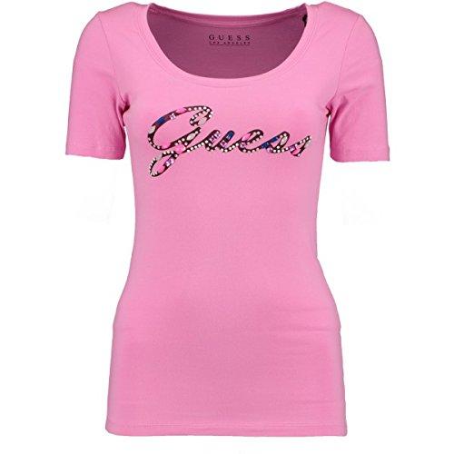 Guess - Camiseta - para mujer rosa Small