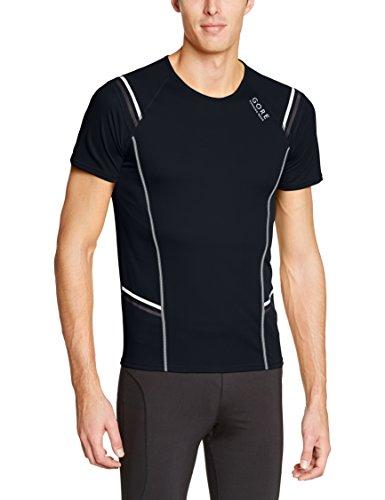 Gore Running Wear Mythos 6.0 - Camiseta para hombre, color negro / gris, talla S