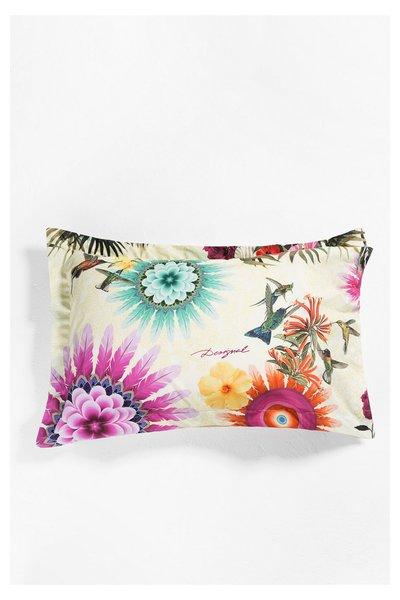 Desigual - unisex - Funda de almohada de algodón - Botanical Dream - Size U