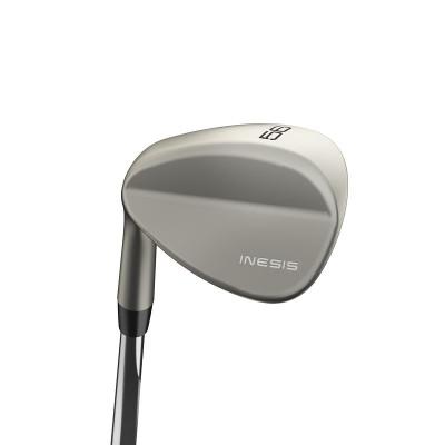 WEDGE golf para hombre zurdo 500 56° varilla de acero INESIS
