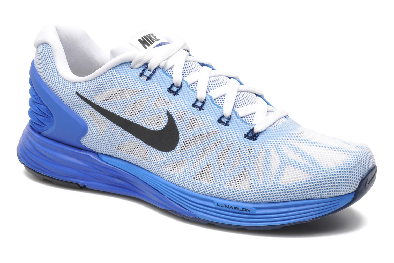 Nike Lunarglide 6 by Nike Blanco