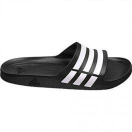 Adidas Duramo Slide Adilette Badelatschen black-white-black - 40,5
