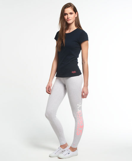 Leggings High Build con logo grande