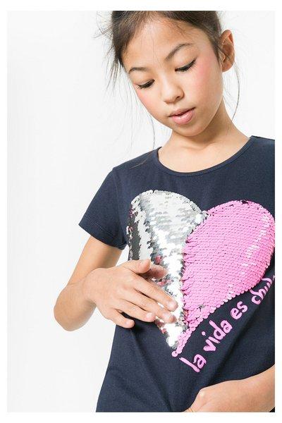 comprar más nuevo calidad superior liquidación de venta caliente Desigual - Mujer - Camiseta con lentejuelas reversibles para niña - Escocia  - Size 11/12