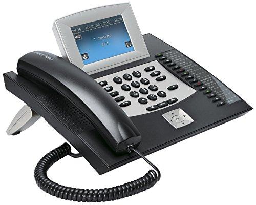 Auerswald COMfortel 2600 - Teléfono fijo digital, negro