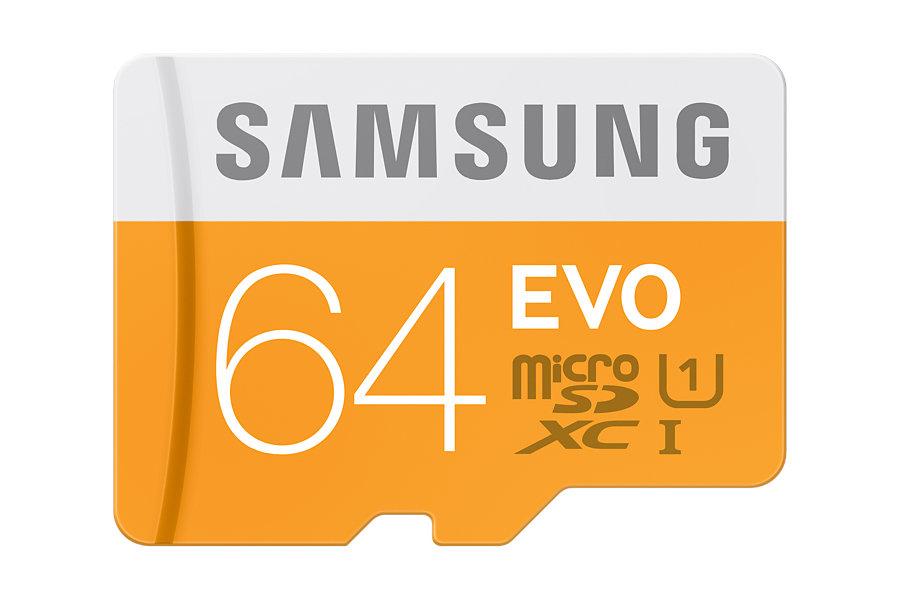 Micro SD Card EVO 64GB with USB Adapter
