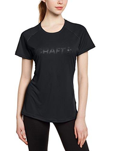 CRAFT Craft3drun Prime - Camiseta de running para mujer, color Negro, talla L