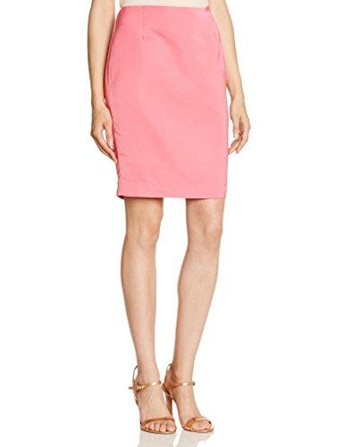 La City - Falda estilo lápiz para mujer, talla 38, color rosa