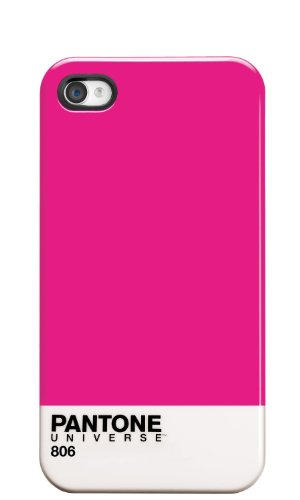 Pantone Universe Cover - Carcasa para Apple iPhone 4/4S, rosa