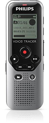 Philips Voice Tracer - Grabadora digital con 4 GB de grabación de sonido