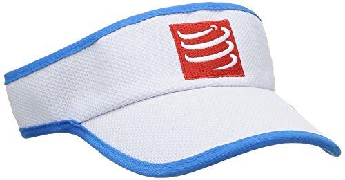 Compressport VIBL - Visera unisex, color blanco, talla única