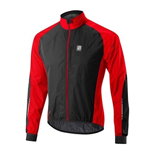 Chaqueta Impermeable Mtb Altura 2016 Peloton Team Rojo-Negro (Xxl , Rojo)