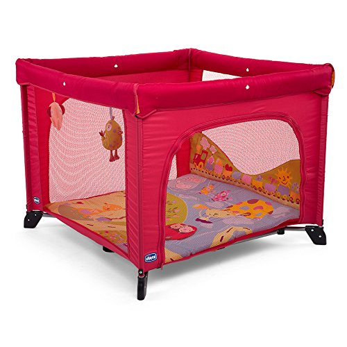 Chicco Open Sea Dreams - Parque de juegos infantil con muñecos, 0-4 años, color rojo