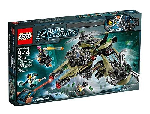 LEGO Ultra Agents - Atraco huracanado, playset (70164)