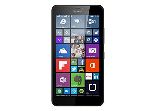 Microsoft Lumia 640 XL - Smartphone libre de 4G (pantalla: 5,7 pulgadas, 8 GB, Dual SIM, Windows Phone 8.1) negro (importado)