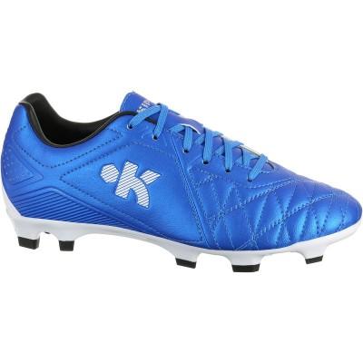 9ba658379ab63 Botas de fútbol para niños terrenos secos Agility 500 FG azul KIPSTA ...