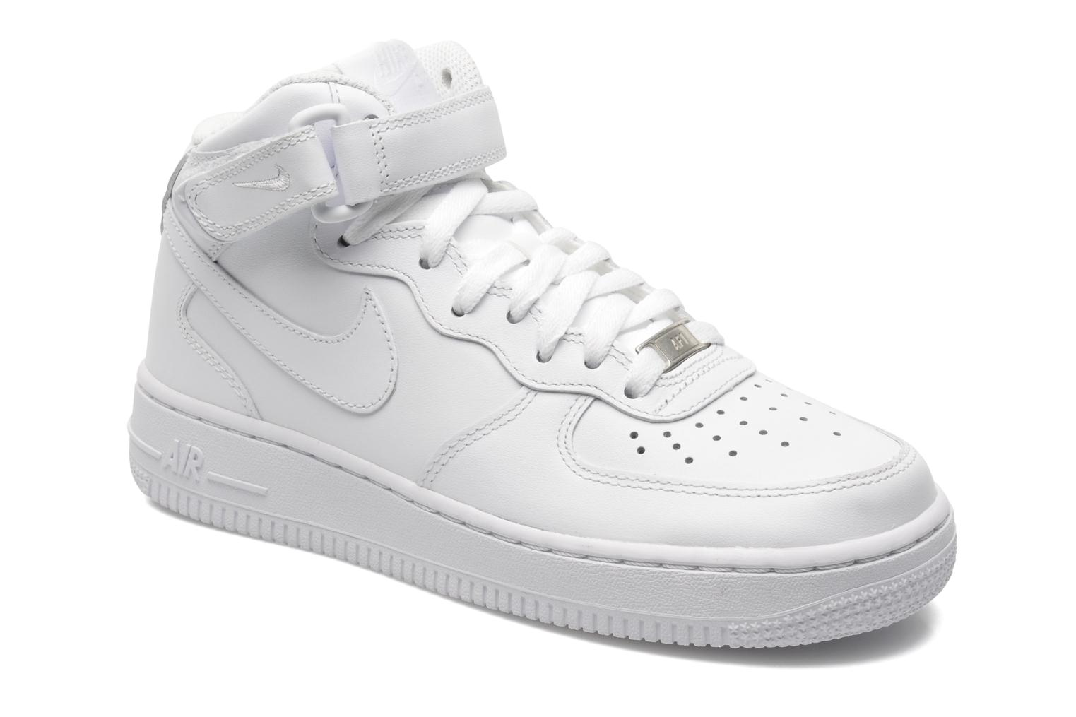 Wmns Air Force 1 Mid '07 Le by Nike Blanco