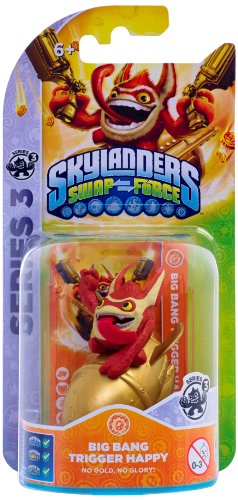 Figura Skylanders Single: Big Bang Trigger Happy