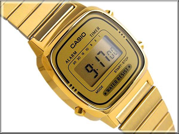 CASIO LA-670WGA-9DF Reloj digital señora