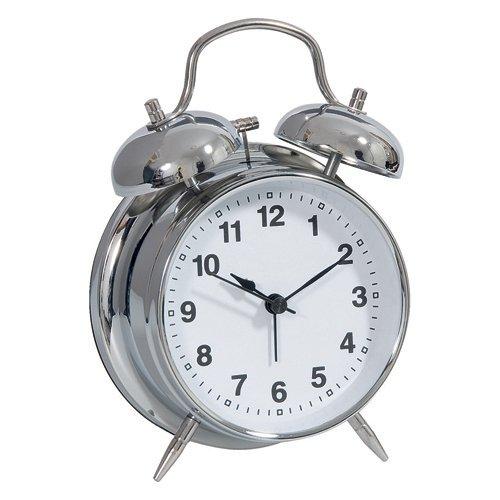 Technoline Geneva DGW - relojes de mesa (11,5 cm, 5,5 cm, 16,5 cm, Analógico, AA LR06) Plata