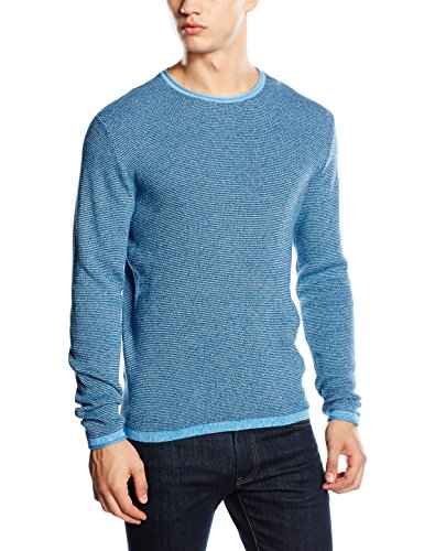 Jack & Jones Kalla-Top Hombre,, Blue (Imperial Blue), Medium