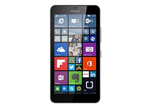 Microsoft Lumia 640 XL - Smartphone libre de 4G (pantalla: 5,7 pulgadas, 8 GB, Dual SIM, Windows Phone 8.1) blanco (importado)