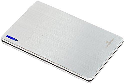 Power bank 5v-2000 ma extra slim-silver