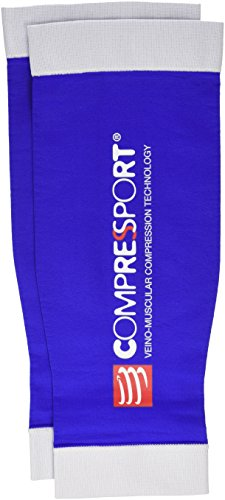 Compressport Calf R2 - Pernera unisex, color azul, talla M (Tamaño Fabricante : T2)