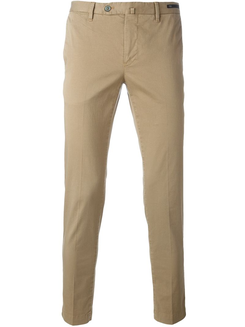 Pt01 Pantalones Chinos De Corte Slim