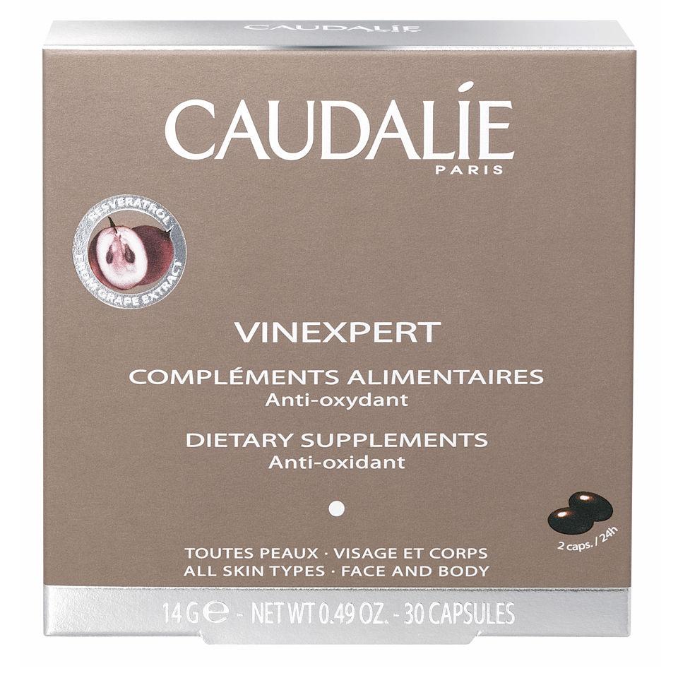 Complementos alimentarios antioxidantes Caudalie Vinexpert (30 cápsulas)