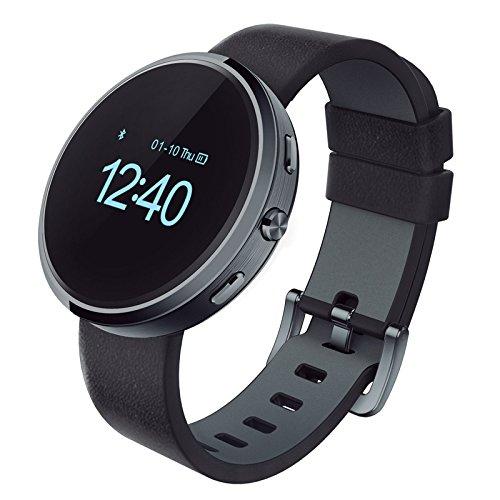ORASphera Silver - Reloj smartwatch, color negro, talla M