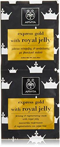 APIVITA EXPRESS GOLD MASCARILLA JALEA REAL 2 UDS
