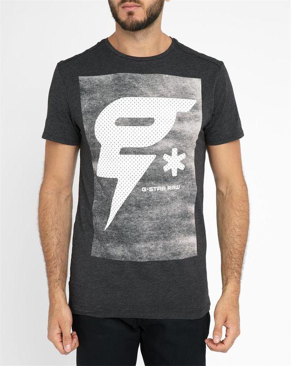 G-STAR, Black Tomeo Printed Round-Neck T-Shirt