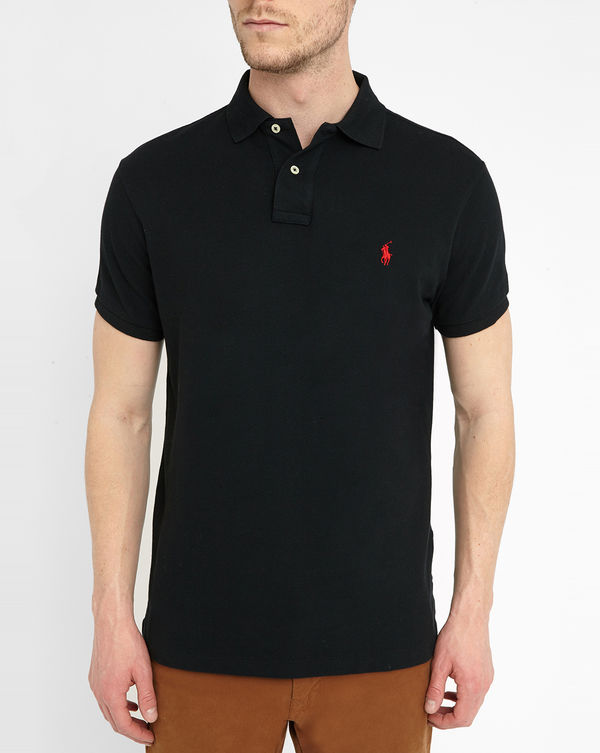 POLO Ralph Lauren, Polo Custom fit negro